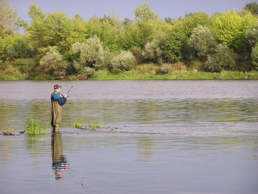 ribolov na jezerima, rijekama, ribnjacima